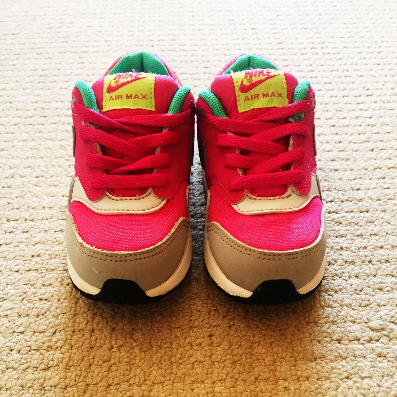 Baby girl Nike Air Max trainers size