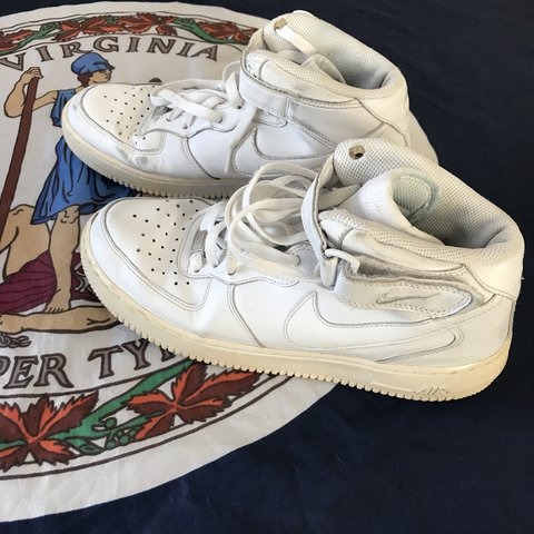 check out daa76 b161f  cutandrunvintage. last year. Richmond, United States. Vintage Classic Nike  Air Force 1 Mid  07 White Men s Basketball Running Athletic Shoes 315123-111  ...
