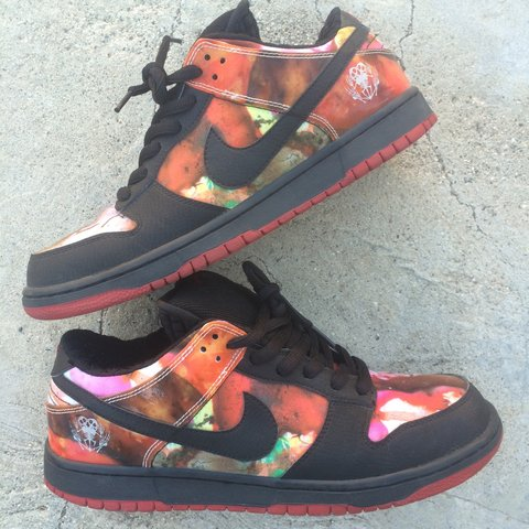 save off bf266 d62ce  ninetythreetilll. 3 years ago. Orange County, CA, USA. Size 11 Nike SB  Dunk Low Pusheads.