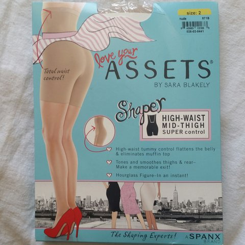 aeeb443a7 Love Your Assets by Sarah Blakely. They re high waist