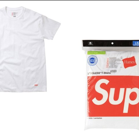 216c2d0a @camkett. 3 years ago. United Kingdom. Supreme Hanes t-shirt never been worn