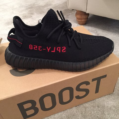 1ad16ccf8 Adidas Yeezy boost 350 V2 Bred by Kanye West UK 9.5. DS OG - Depop