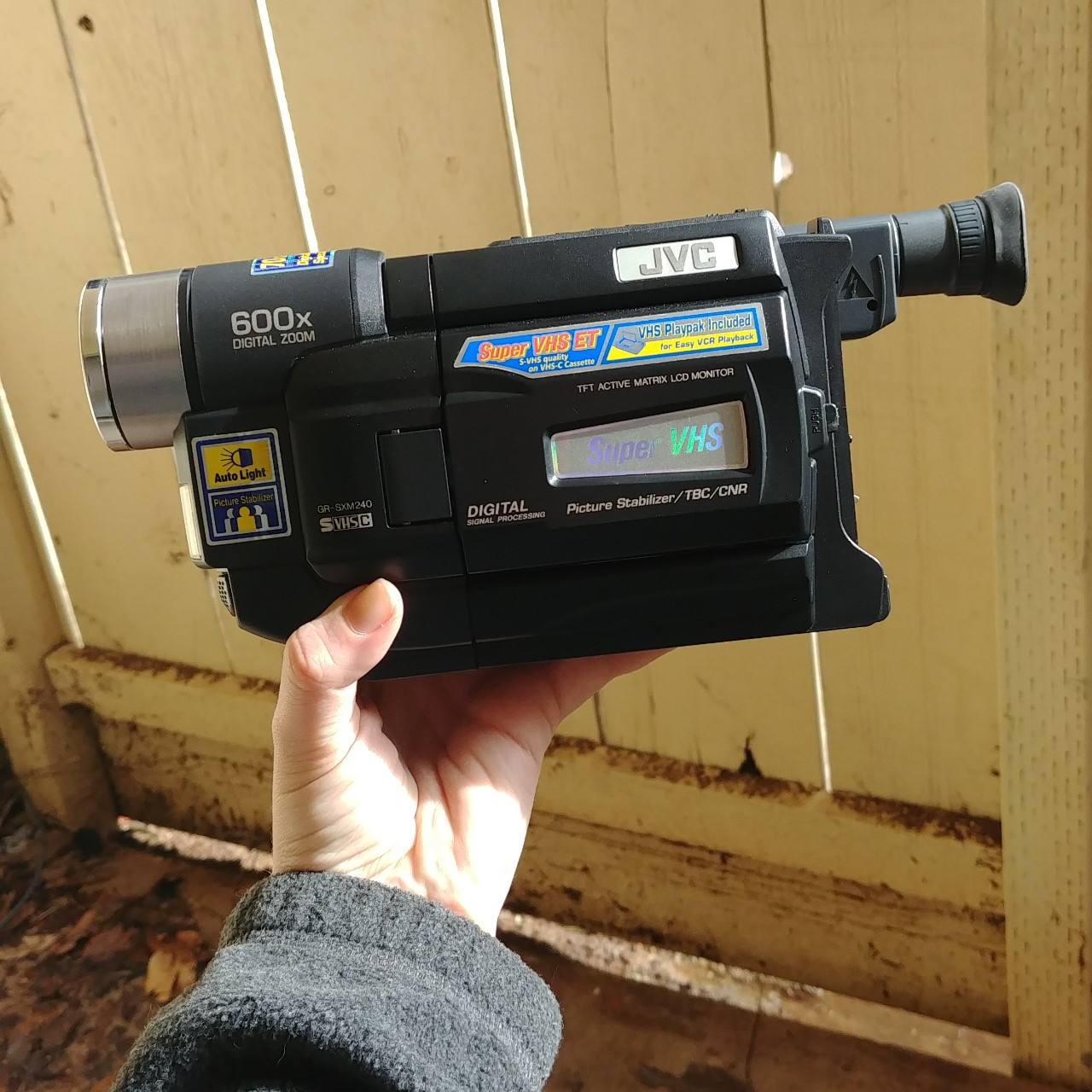 Jvc Gr Ax97ou Vhs Camcorder Great Condition Depop