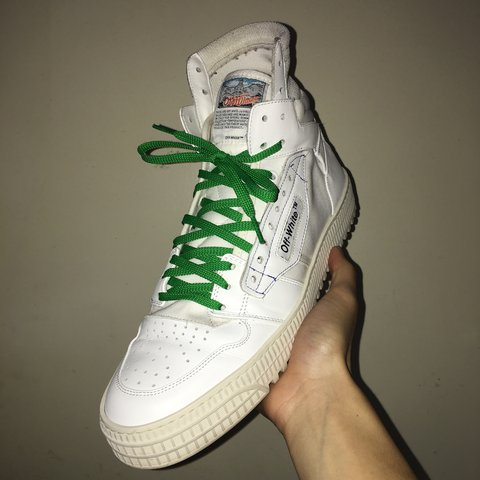 """d2fe84913b Off-White """"3.0 LOW"""" high too sneakers From this current SS18 - Depop"""