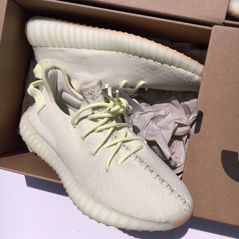 161dccec3 Adidas Yeezy Boost 350 v2 Butter 🍰 • Brand New in Box with - Depop