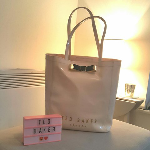 d891dc5ef76 @agie. 2 years ago. Norwich, United Kingdom. Ted Baker large pvc tote bag.