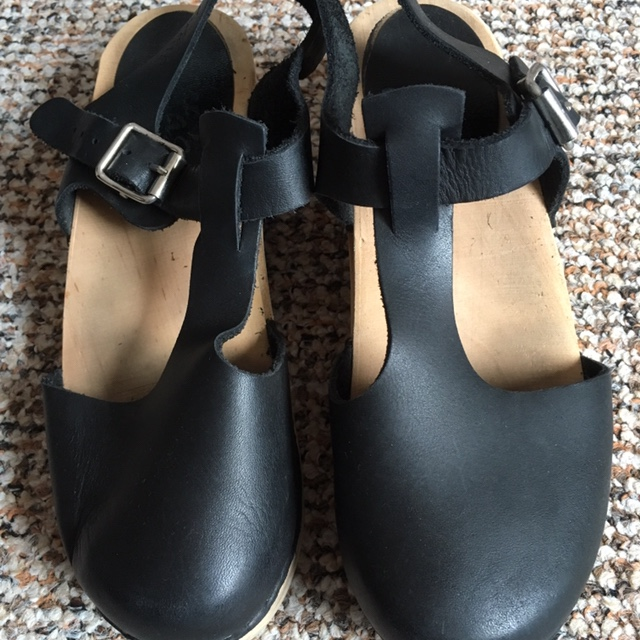 Lotta From Stockholm Wooden Swedish Clog Sandals Depop