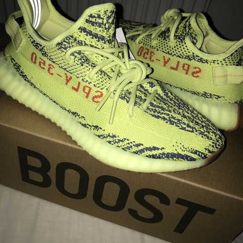 44cf471069f Adidas Yeezy Boost 350 V2 Semi Frozen Yellow   Raw