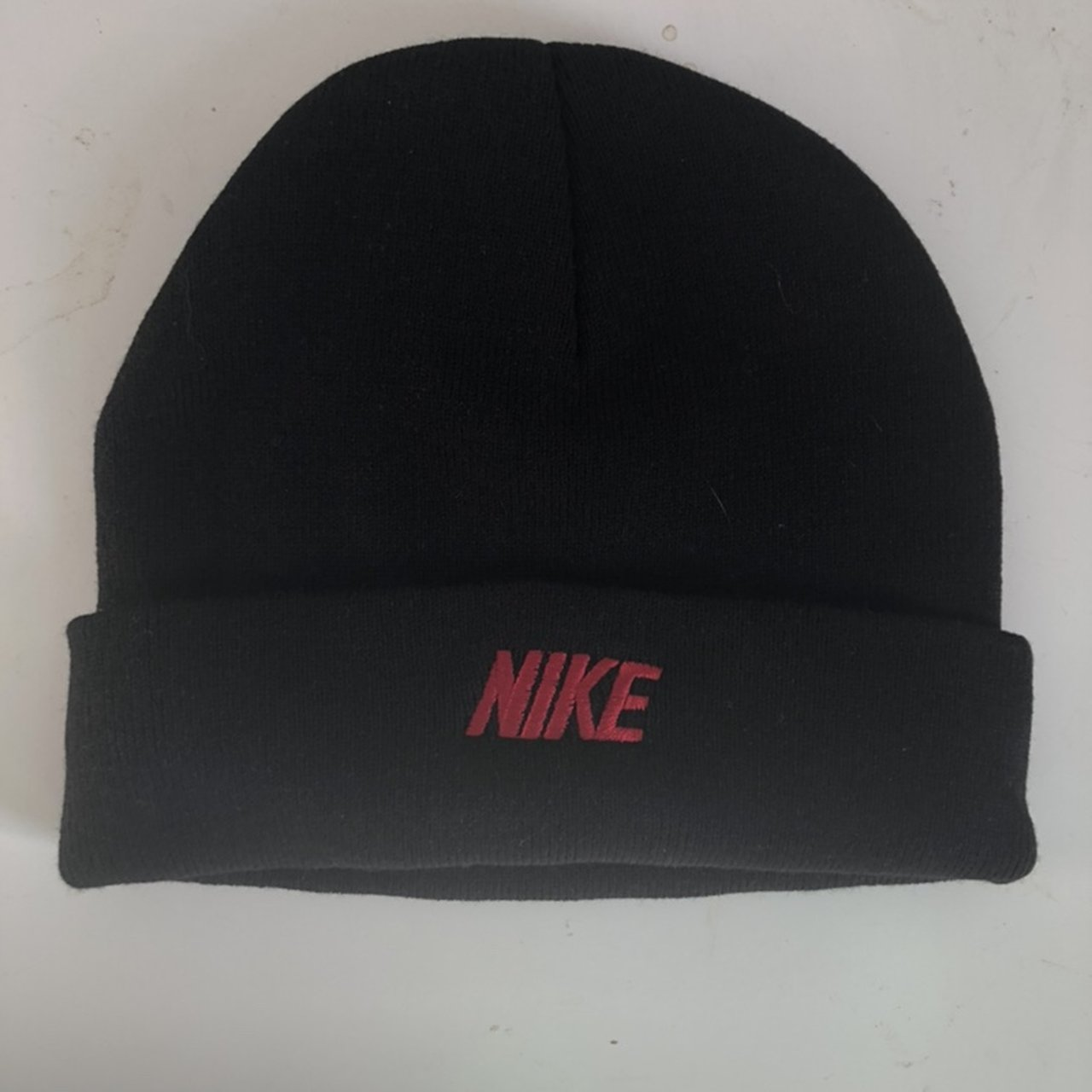caf7fc3fd1d Nike Beanie Hat in black and red Brand new but without tags - Depop