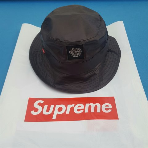 Supreme Stone Island Heat Reactive Crusher Bucket Hat! sold - Depop 46900e9b8bff