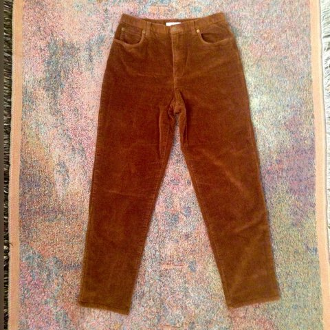 1cadf80730 🌼Vintage cognac camel corduroy high waisted jeans. This is - Depop