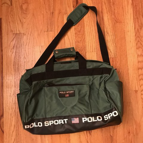 6a62ac0a4d Polo Sport Duffle Bag. Good condition! Relatively new to and - Depop