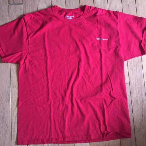 54d14b90 @td12345. 5 months ago. United States. Vintage Urban Outfitters Champion  Script Write-out T-shirt size XL.