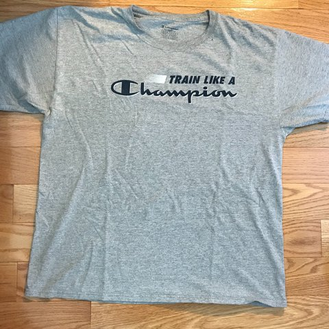 79b40667f @td12345. 2 days ago. United States. 'Train Like A Champion' Champion  Vintage T-shirt size L. ...