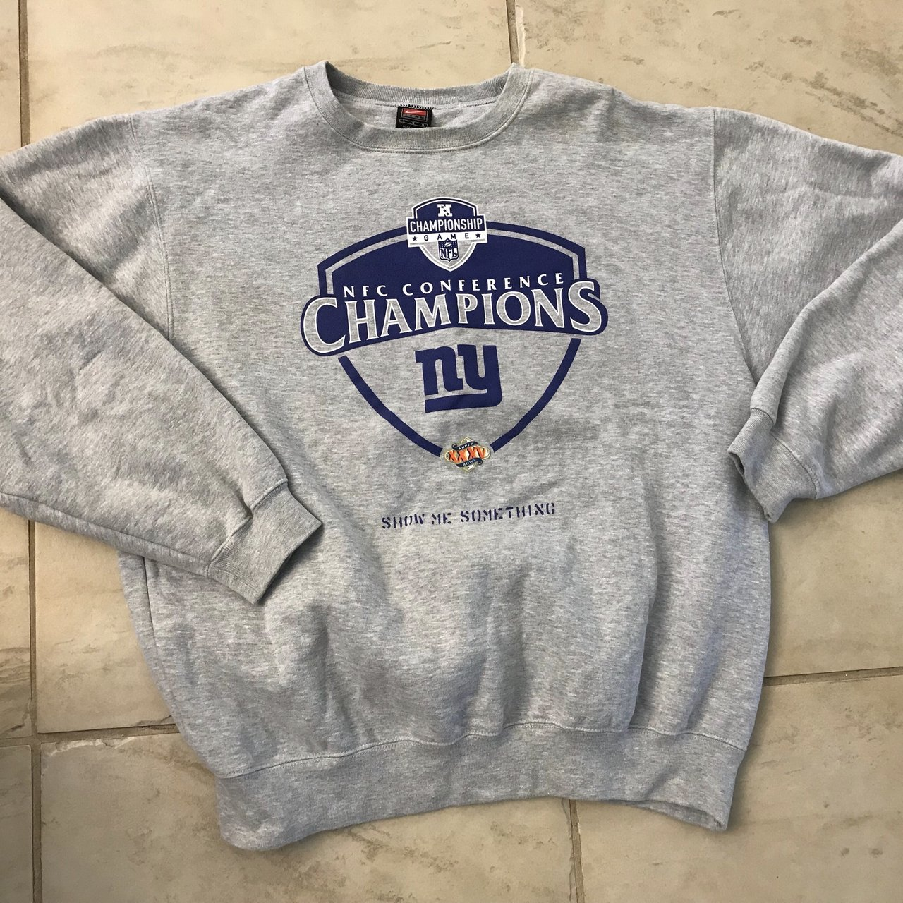 4621fd887a2  td12345. 2 months ago. United States. Vintage Nike New York Giants  Football Crewneck ...