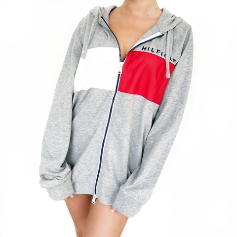 950f49680bb6d @carolannie_. last year. Palm Springs, United States. New with tags! Tommy  Hilfiger zip up hoodie❤️ ...