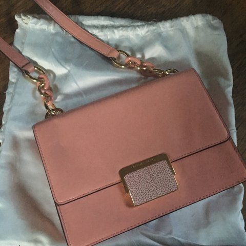 f6945ee1e6a6 @bellelingerieco. 2 years ago. Bradford, UK. Baby pink Michael Kors small  shoulder or crossbody bag ...