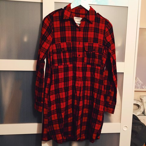 e14770ce02 @jerisimp. 2 years ago. Bromley, United Kingdom. Red checked dress from Zara  size xs. Only worn a couple of times ...