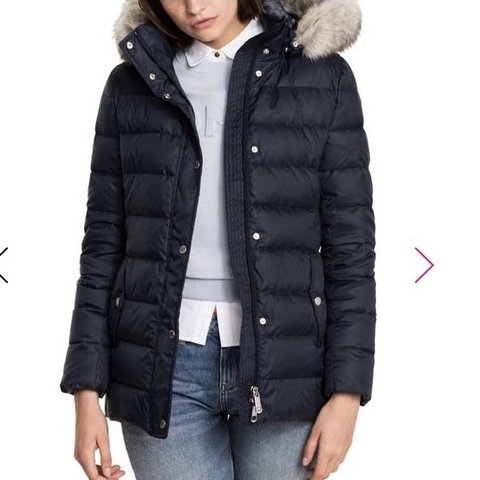 388e385d @sara_yousaf. 19 days ago. Leicester, United Kingdom. Selling this Tommy  Hilfiger Tyra Down Jacket.