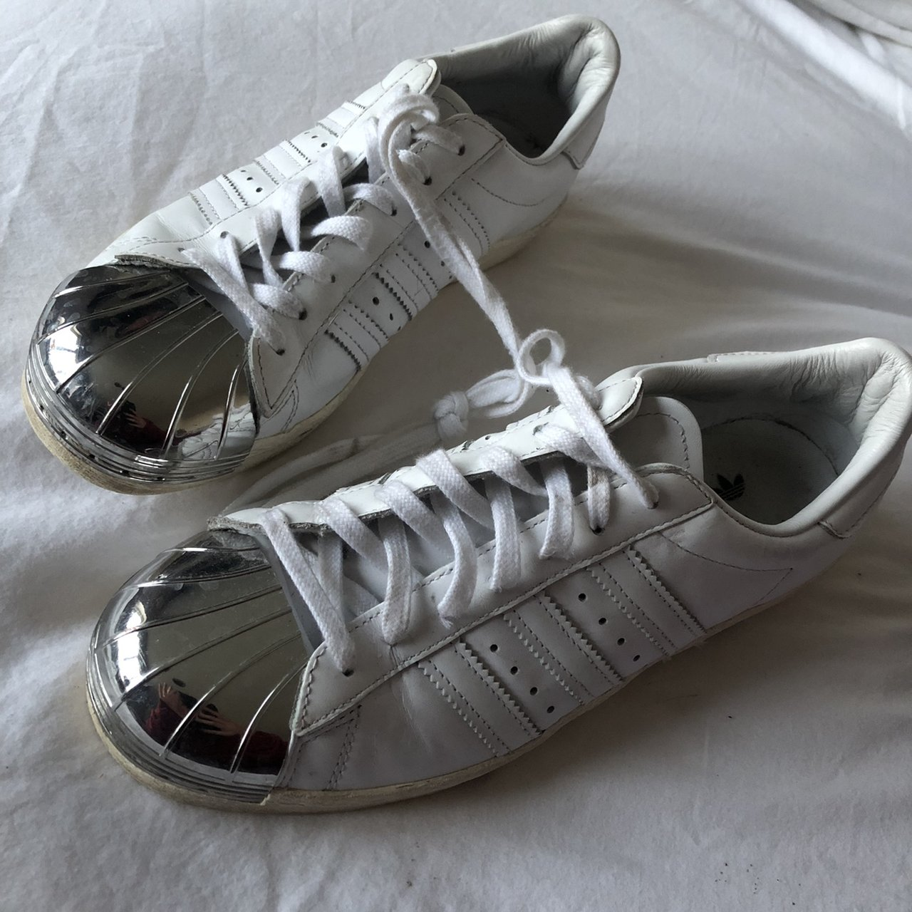 Reduced price need gone  Adidas Superstar 80 s Metal Toe a - Depop e19c57708