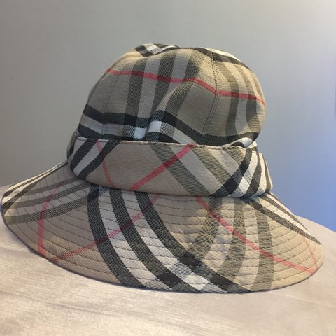 Genuine vintage nova check Burberry bucket hat  burberry - Depop 9c1eeac79ff