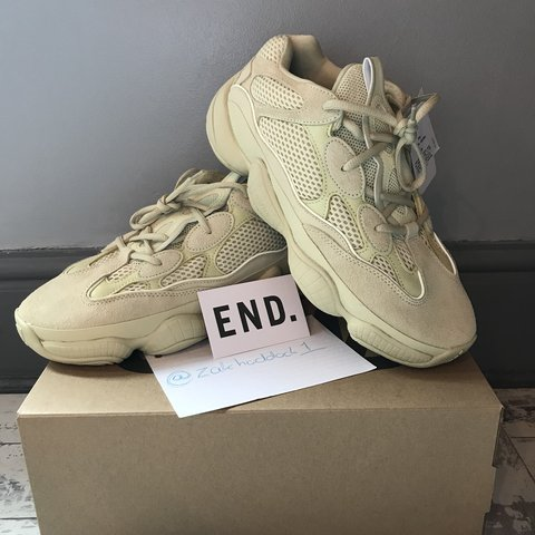 3e2d953ef Yeezy 500 Supermoon Yellow Size UK 8 Won Draw with End new