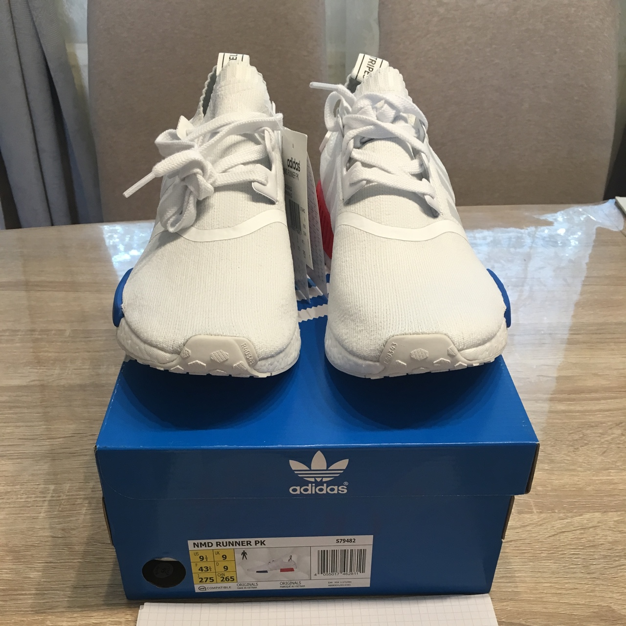 the best attitude d5419 891be Adidas NMD RUNNER PK / OG WHITE / DS / with receipt ...