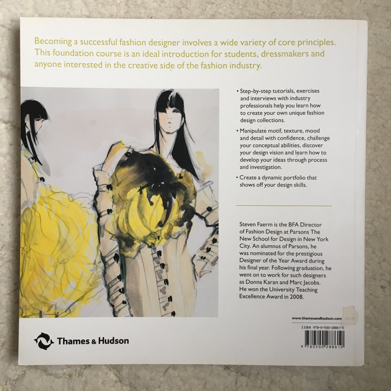 Fashion design course book 'Principles, practice    - Depop
