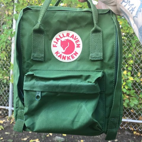 This is a Fjallraven Kanken Mini backpack 🎒 worn once or it - Depop 50c6b8dfd88c0