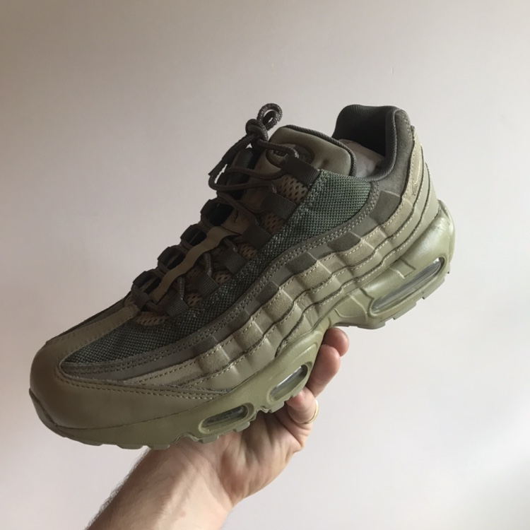 best sneakers e7557 d9600 Brand new in box 🎄🎄 Nike air max 95 premium Olive... - Depop