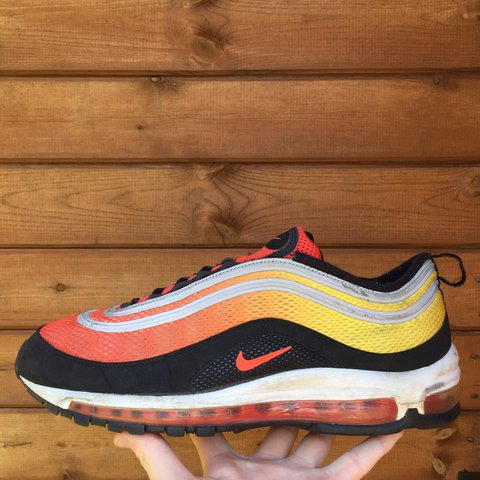 sports shoes 5b72f 9b53c @cheapersneaker. 2 years ago. United Kingdom. Nike Air Max 97 EM 'Sunset  Pack' 🔥