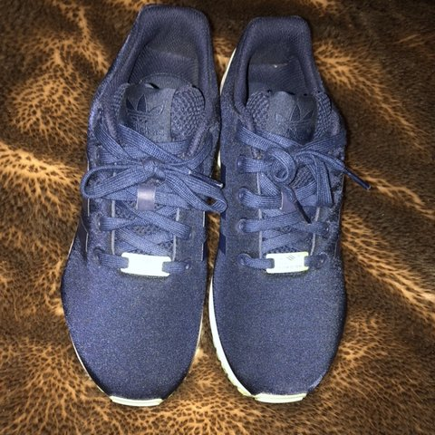 huge discount 63b47 0ea90  sarahlavall. in 14 hours. London, United Kingdom. Adidas ZX Flux In navy  and mint green.