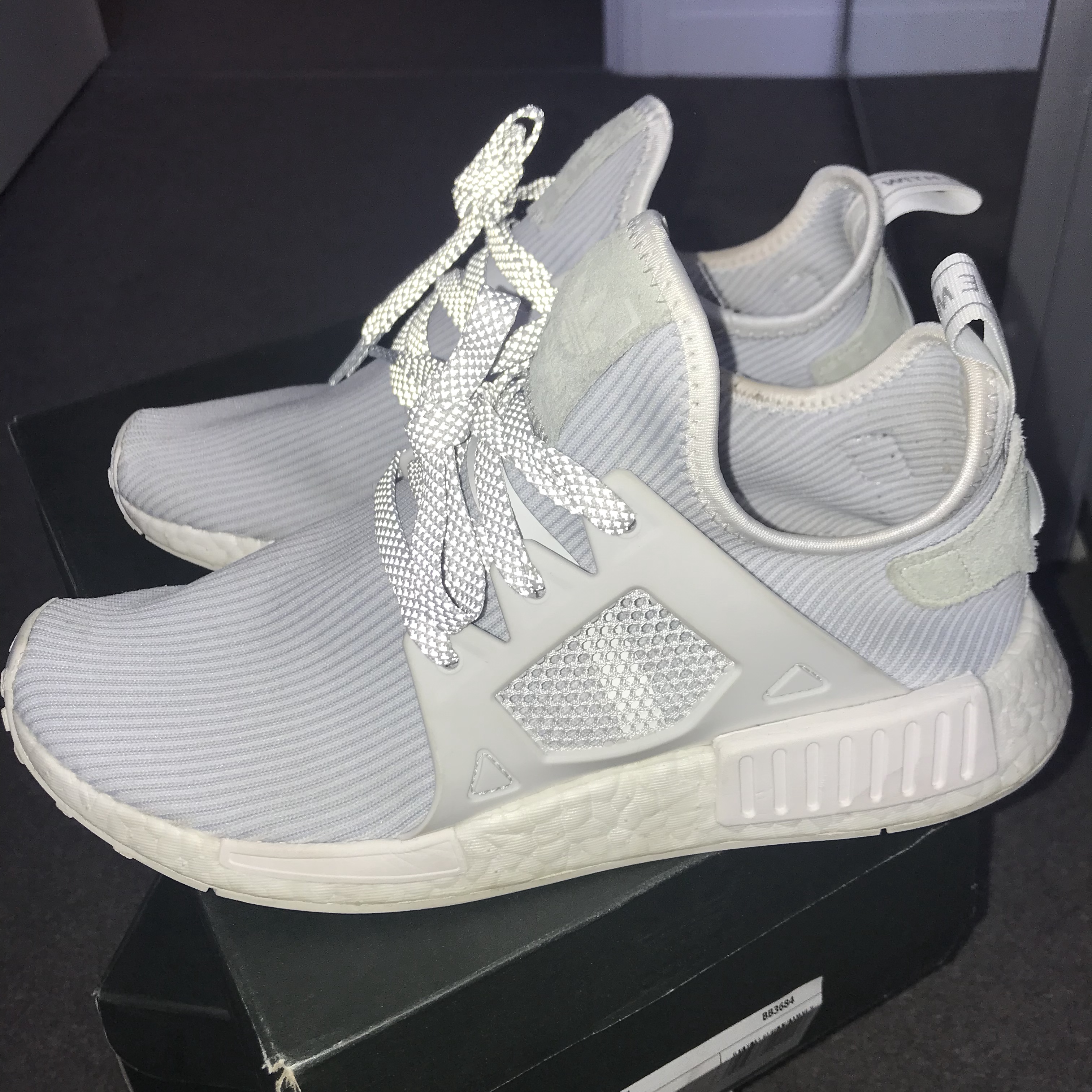 Cream size 6 Adidas trainers Worn a hand full of Depop