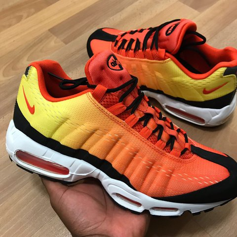 31aeae90c9385f ... free shipping nike air max 95 sunset orange pack size uk 10 worn once  depop 2a3fe