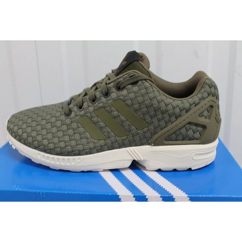486c441c9e56f Brand new boxed with tags Adidas ZX Flux woven Reflective in - Depop