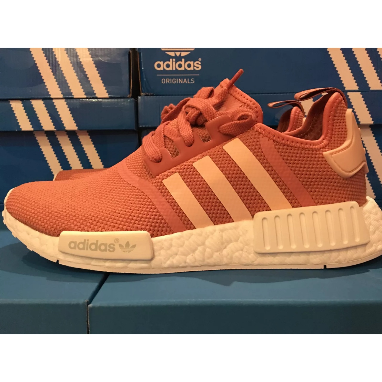 premium selection 916d4 5fd8e NMD R1 W RAW PINK / VAPOR PINK / FTWR WHITE S76006 ...