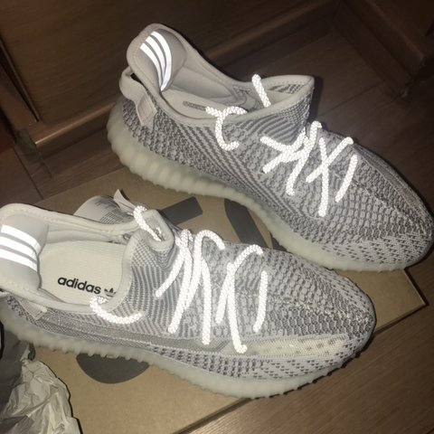 3465a828b3043 Yeezy static boost 350 v2 in size 8! Brand new with tags and - Depop