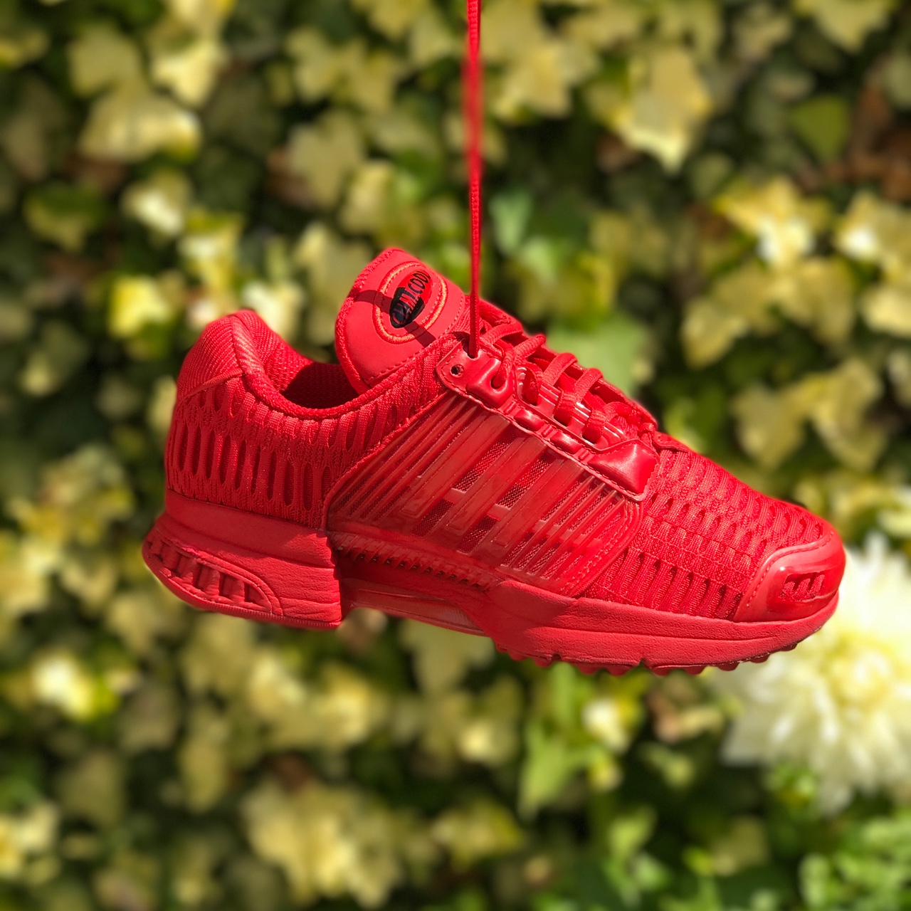 Adidas climacool red trainers , Size 4 , Only worn a...