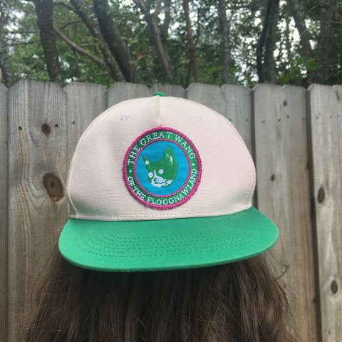 "217ae011612e Odd Future Camp Floggnaw ""The Great Wang"" snapback! Great - - Depop"