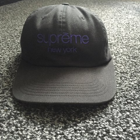 dba17ea7 Supreme hat, don't need to sell but would consider good so - Depop