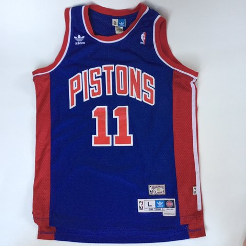 68b1c6e6a9b @gravvves. 23 days ago. Chanhassen, United States. Isiah Thomas NBA  Hardwood Classics Detroit Pistons basketball jersey.