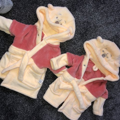Winnie The Pooh Dressing Gowns 0 3 Months Will Sell Or As A Depop