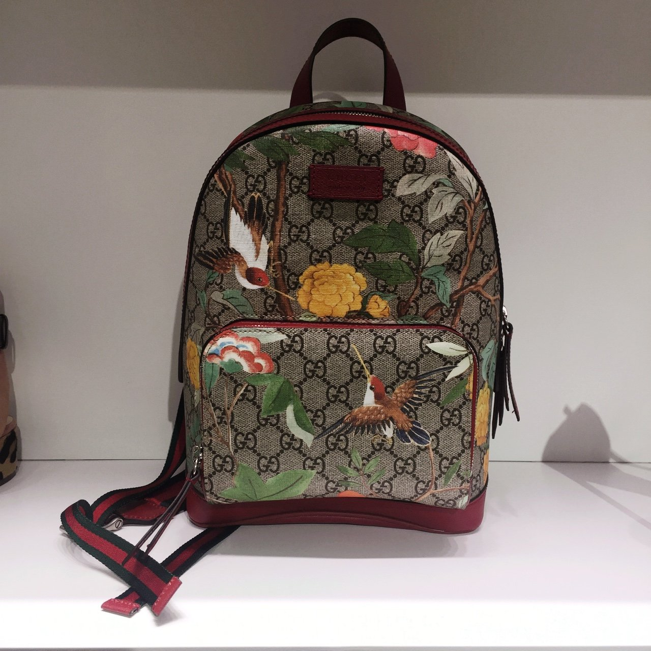 NEW GUCCI BOOMS GG BACKPACK - Depop 731d014a9e2b1