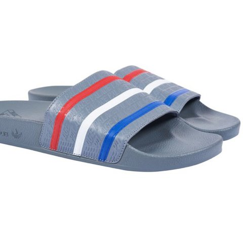 ef9dba54d Palace x adidas adillete slides. Sold out instantly. 10 10 - Depop