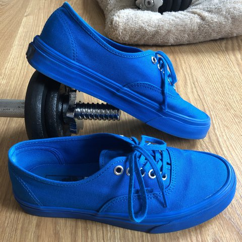 Rare Royal blue vans authentic with