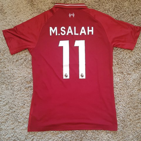 499416eeeaf @thepuckstop. 4 months ago. Coventry, GB. Liverpool football 18/19 Home  Shirt #11 Mo Salah