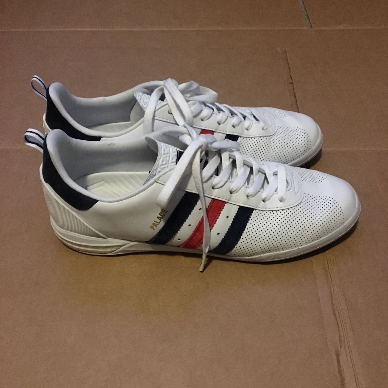Adidas x Palace indoor shoes. Price is firm. These Depop
