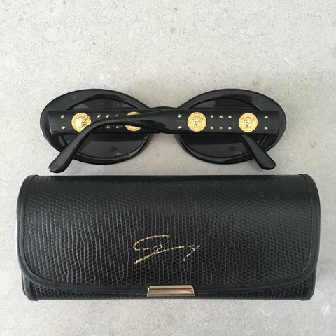 5bf99a3847700 100% authentic vintage Gianni Versace sunglasses glasses. on - Depop