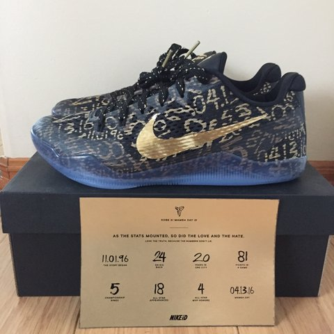 uk availability 00c0b c9fd9  khansari. 3 years ago. Downey, CA, USA. Kobe 11 mamba day.