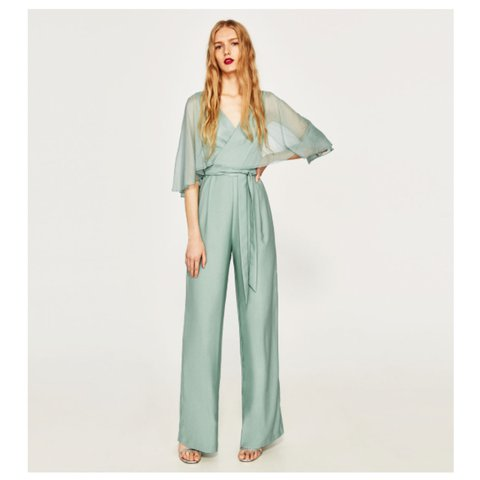 a49a517684d ZARA NEW SEASON - jumpsuit still in stores. Only worn once